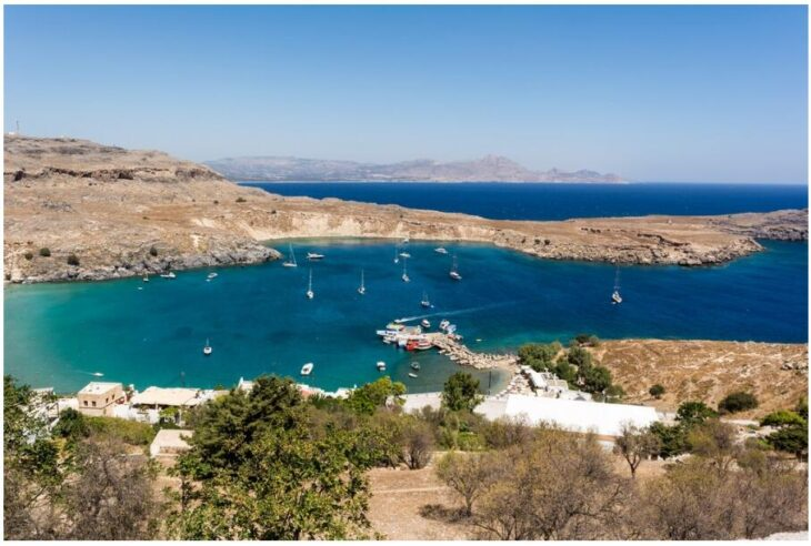 Boat trip to Lindos