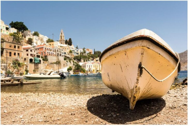 Boat trip to Symi