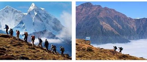 Trekking in East Nepal